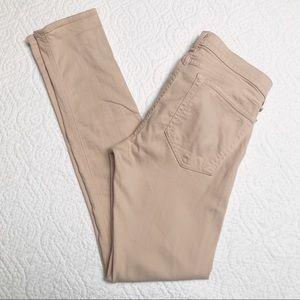 Rag & Bone The Dre Aged Pumice Skinny Jeans Sz 26